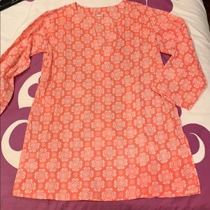 Tops - Printed Cotton Tunic